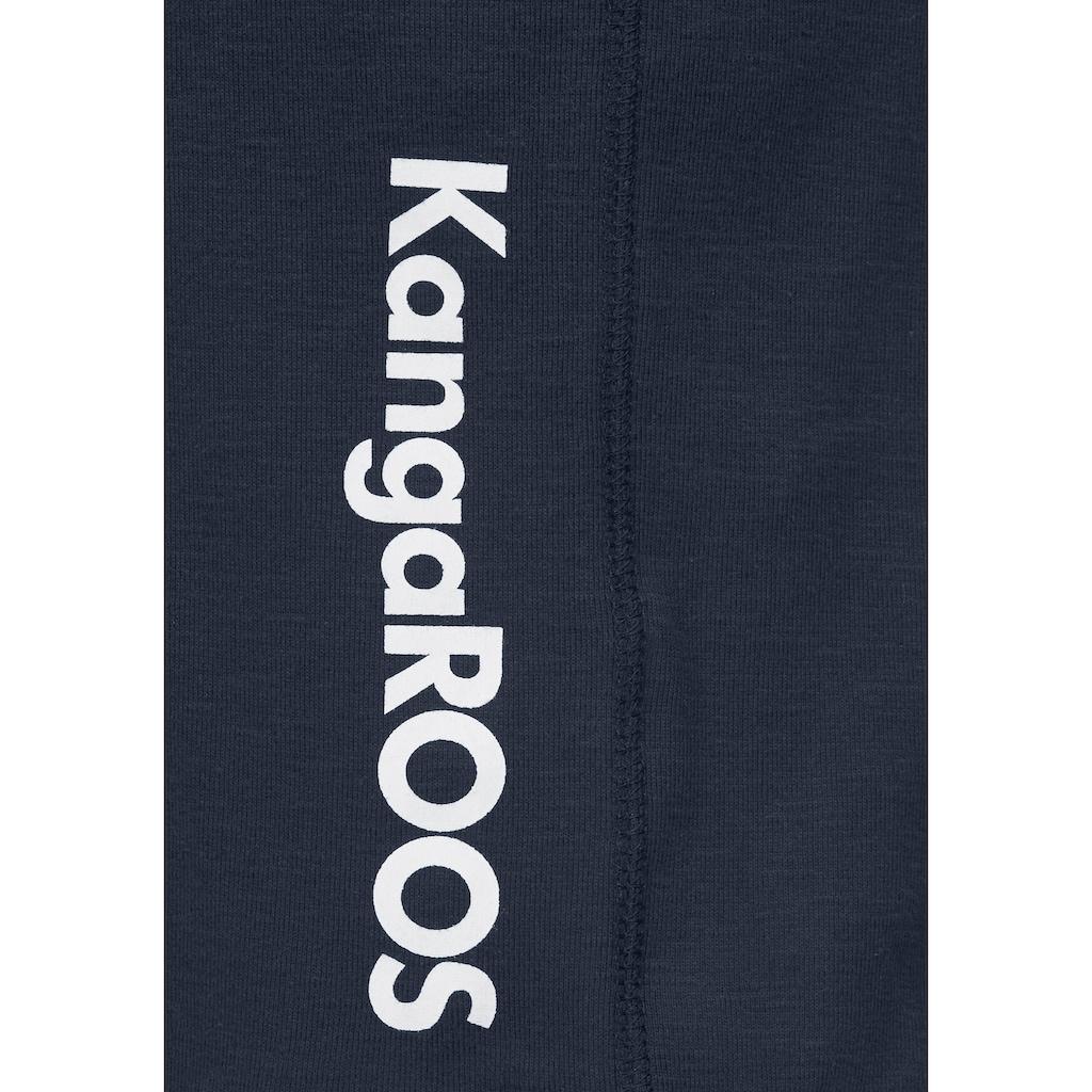 KangaROOS Sweatkleid, im 2-in-1-Look