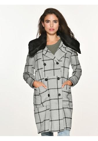 Maze Wollmix - Jacke mit Fellkragen »Puente« kaufen