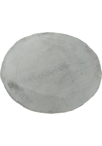Leonique Teppich »Balu«, rund, 20 mm Höhe, Kaninchenfell Haptik, Wohnzimmer kaufen