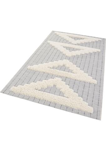MINT RUGS Teppich »FES«, rechteckig, 35 mm Höhe, In- und Outdoor geeignet,... kaufen