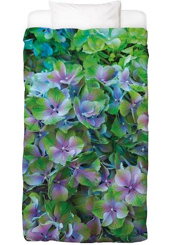 Juniqe Bettwäsche »Hortensia«, In vielen weiteren Designs erhältlich kaufen