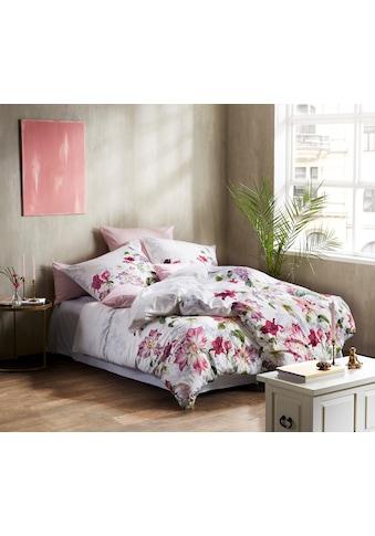 fleuresse Wendebettwäsche »Bed Art S 4129 (2/3tlg.)«, eindrucksvolle Blütenpracht kaufen