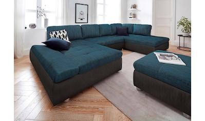 sit&more Wohnlandschaft »Fabona«, wahlweise mit Bettfunktion, Bettkasten und... kaufen