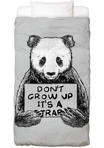 Juniqe Bettwäsche »Don't Grow up«, In vielen weiteren Designs erhältlich kaufen