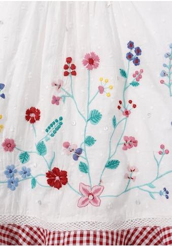BONDI Trachtenkleid Baby mit Blumenstickerei und Pailletten kaufen