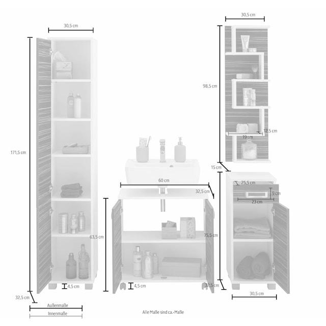 Schildmeyer Badmöbel-Set »Kos« (Set, 4-tlg)