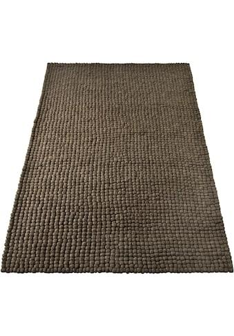 Home affaire Wollteppich »Maja«, rechteckig, 22 mm Höhe, reine Wolle,... kaufen