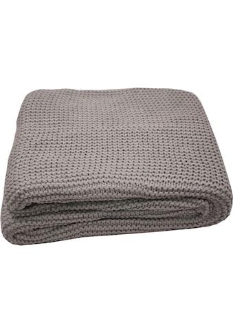 TOM TAILOR Plaid »Plain Knit«, Zeitlos schön kaufen
