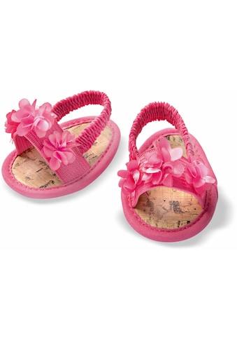 Heless® Puppenkleidung, »Blüten - Sandalen, Gr. 38 - 45 cm« kaufen