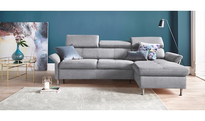 exxpo - sofa fashion Ecksofa, inkl. Kopf- bzw. Rückenverstellung, wahlweise mit... kaufen