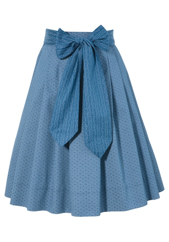 Turi Landhaus Trachtenrock, Kinder, mit süssem Streublumen-Muster kaufen