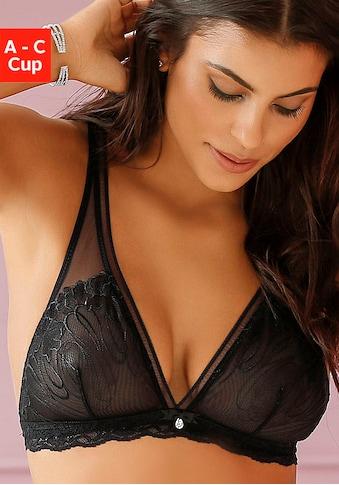 LASCANA Bralette-BH, in High Apex-Schnittform kaufen