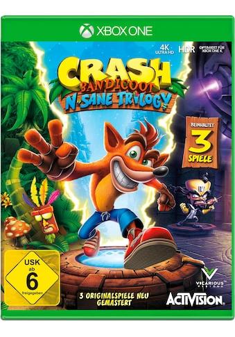 Crash Bandicoot N. Sane Triology Xbox One kaufen