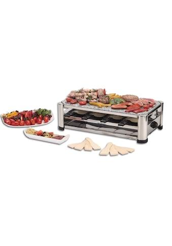 Raclette »4500 8 Personen«, 8 St. Raclettepfännchen, 1500 W kaufen