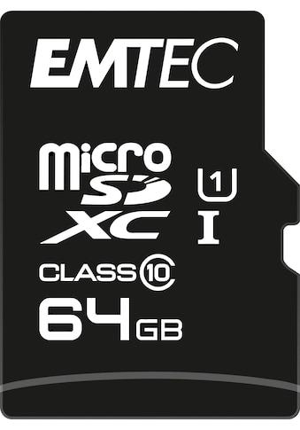 EMTEC Speicherkarte »microSD UHS-I U1 EliteGold«, (Class 10 85 MB/s... kaufen