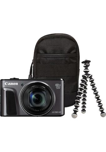 Canon Kompaktkamera »Power Shot SX720 HS«, WLAN (Wi-Fi)-NFC, Travel Case & Gorillapod (Ministativ) kaufen