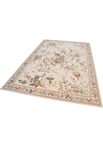 THEKO Teppich »Flomi Sagrini«, rechteckig, 3 mm Höhe, Flachgewebe, Pastell-Farben,... kaufen