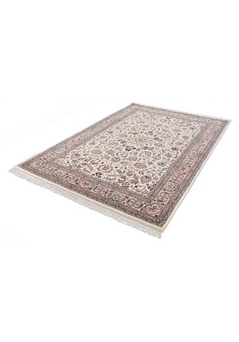 Orientteppich, »Benares Isfahan«, THEKO, rechteckig, Höhe 12 mm, manuell geknüpft kaufen