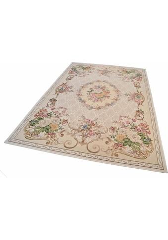 THEKO Teppich »Flomi Floral«, rechteckig, 3 mm Höhe, gewebt, Blumen Design, Wohnzimmer kaufen