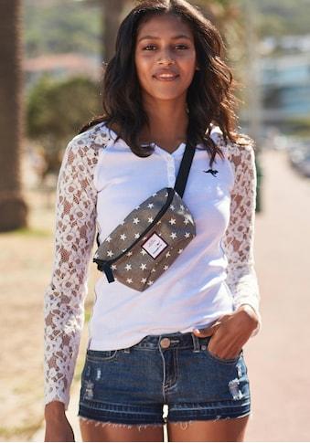 KangaROOS Langarmshirt, mit Ärmel aus Spitze kaufen