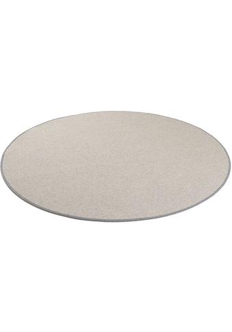 Living Line Wollteppich »Shepherd«, rund, 9 mm Höhe, reine Wolle, Wohnzimmer kaufen