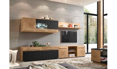 Places of Style Wohnwand »Locarno«, (Set, 4 St.), im trendigen Design kaufen