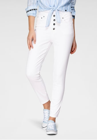 H.I.S 7/8-Jeans »Skinny BUTTON FLY«, Nachhaltige, wassersparende Produktion durch OZON... kaufen