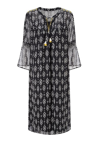 Classic Inspirationen Kleid in duftiger Chiffon - Qualität kaufen