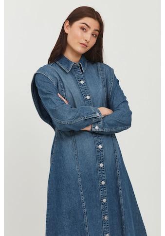 b.young Jeanskleid »BYLYRA LONG DRESS - 20810138«, Jeanskleid mit Knopfverschluss kaufen