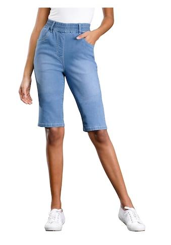 Classic Basics Jeans - Bermudas mit hohem Rundum - Dehnbund kaufen