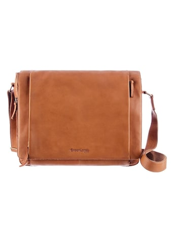 GreenLand Nature Messenger Bag, aus Leder mit Laptopfach kaufen