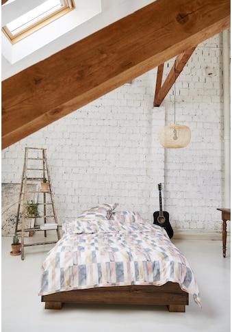 Journey Living Kissenbezug »Villette, Satin«, (1 St.), verdeckter Reissverschluss kaufen