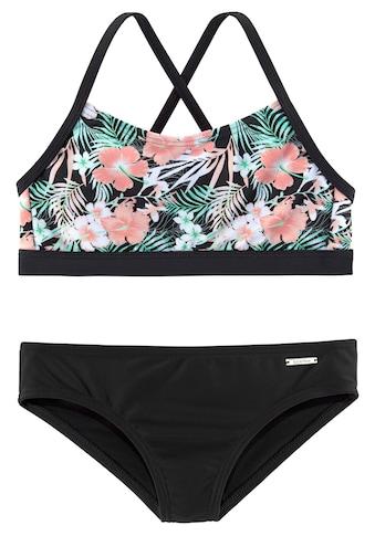 Chiemsee Bustier-Bikini, im tropischen Print kaufen
