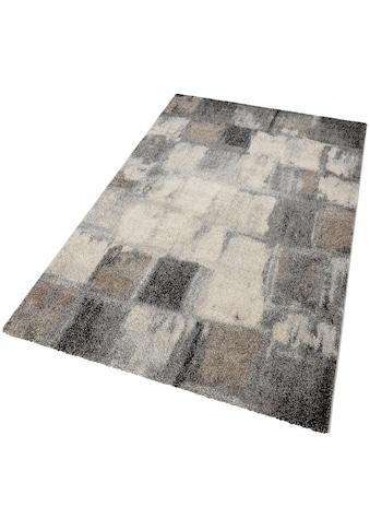 Teppich, »ELEGANT MOSAIC«, merinos, rechteckig, Höhe 18 mm, maschinell gewebt kaufen