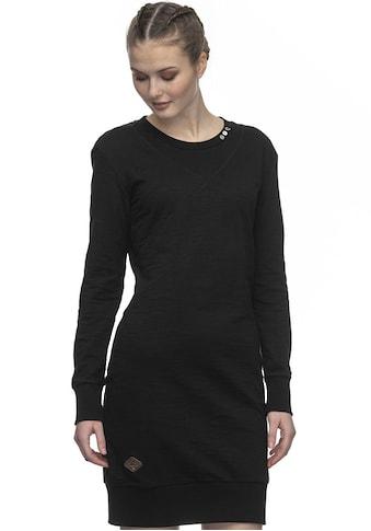 Ragwear Sweatkleid »CATANY«, melierter Homewear-Style mit extra breiten Bündchen kaufen