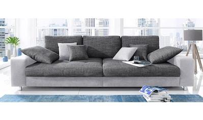 Nova Via Big-Sofa »Tobi«, wahlweise mit Kaltschaum (140kg Belastung/Sitz) und... kaufen
