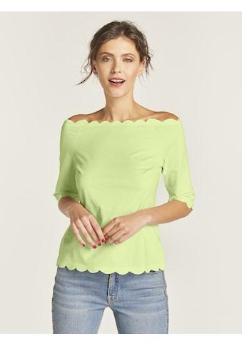 Shirt mit Carmen-Ausschnitt kaufen