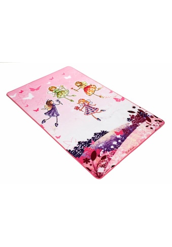 Böing Carpet Kinderteppich »Lovely Kids LK-3«, rechteckig, 2 mm Höhe, Motiv Elfen,... kaufen