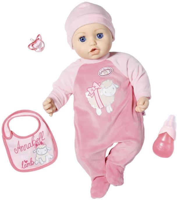 Image of Baby Annabell Babypuppe »Annabell, 43 cm«, interaktiv mit Schlafaugen