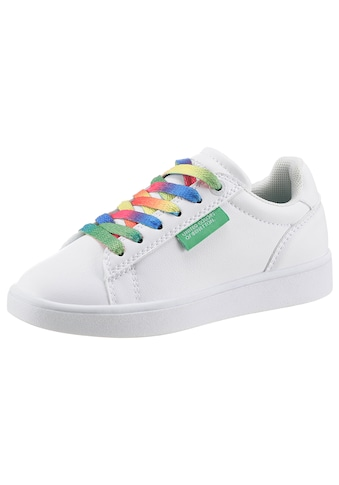 United Colors of Benetton Sneaker »MULTICOLOR LACES«, mit bunten Schnürsenkeln kaufen