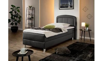Maintal Polsterbett »Lucas«, mit Bettkasten, in 4 Breiten und wahlweise 2 Matratzenarten und 2 Härtegrade kaufen