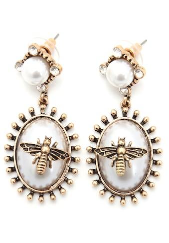 J.Jayz Paar Ohrstecker »Biene, im Vintage - Look« kaufen