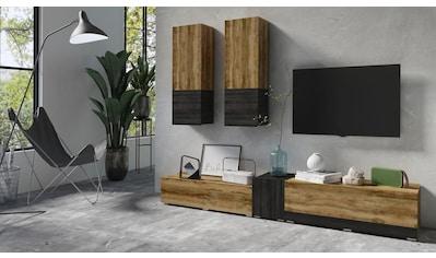 TRENDMANUFAKTUR Wohnwand »Power« (5 - tlg) kaufen
