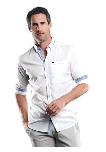 Engbers Unifarbenes Hemd mit Details kaufen