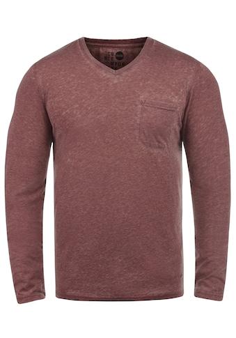 Solid Langarmshirt »Them« kaufen