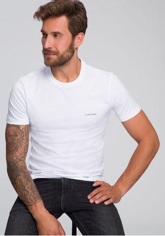 Calvin Klein T - Shirt »COTTON CHEST LOGO« kaufen