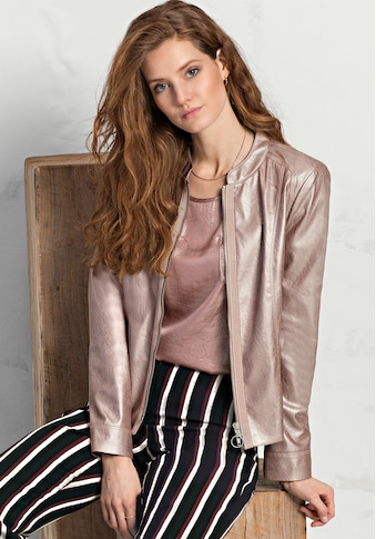 bianca Lederimitatjacke »ESTELLE«, aus Fake-Leder in einer tollen Farbe kaufen
