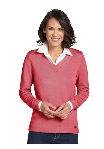 Casual Looks Pullover im 2 - in - 1 - Look kaufen