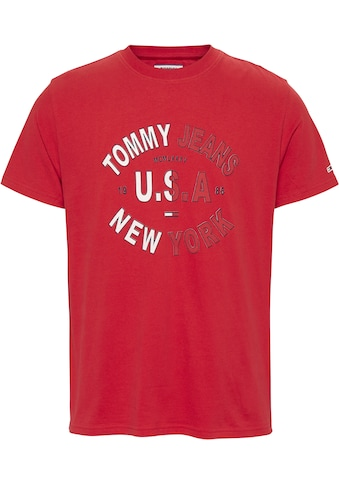 TOMMY JEANS T - Shirt »TJM ARCHED GRAPHIC TEE« kaufen