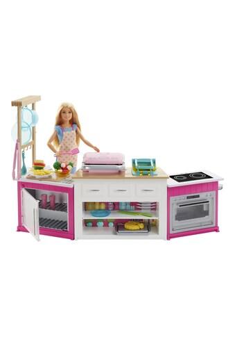 Spielset, Barbie®, »Cooking & Baking Deluxe Küche mit Puppe« kaufen